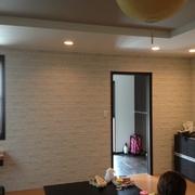 リビング壁改装工事