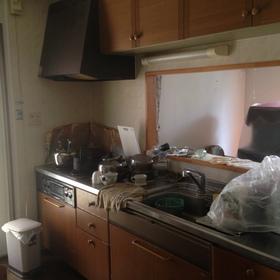キッチン、トイレ入れ替え工事 Before